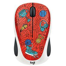 Logitech Doodle Collection M238 Champion Coral Wireless Mouse